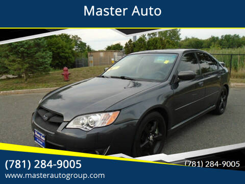 2008 Subaru Legacy for sale at Master Auto in Revere MA