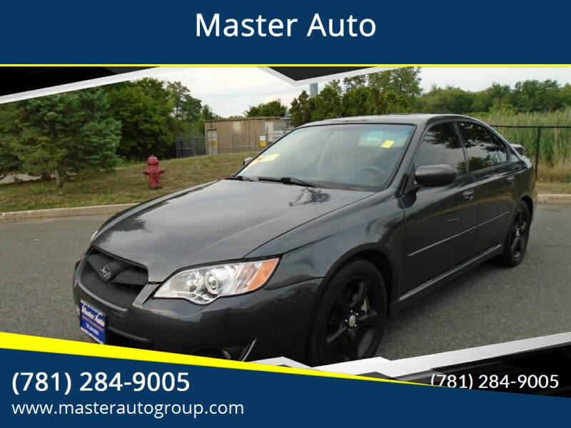 2008 Subaru Legacy for sale at Master Auto in Revere MA