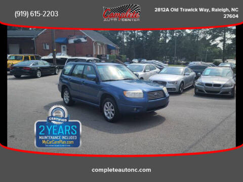 2008 Subaru Forester for sale at Complete Auto Center , Inc in Raleigh NC
