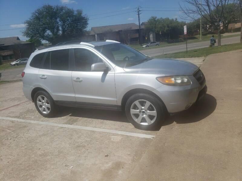 2007 Hyundai Santa Fe for sale at El Jasho Motors in Grand Prairie TX