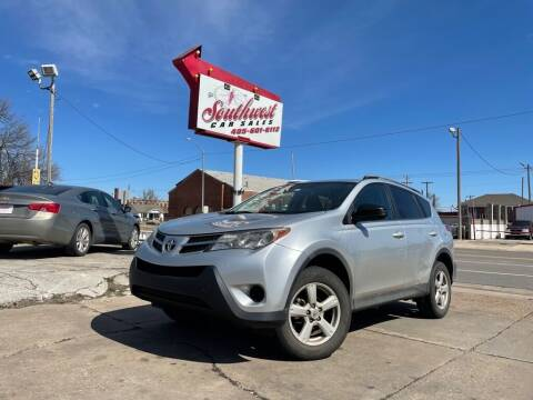 2014 Toyota RAV4 for sale at Southwest Car Sales in Oklahoma City OK