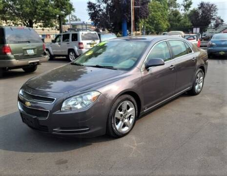 2010 Chevrolet Malibu for sale at SWIFT AUTO SALES INC in Salem OR