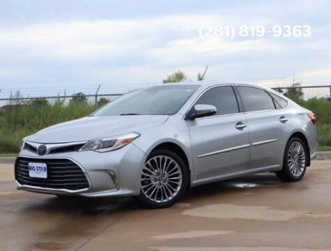 2016 Toyota Avalon for sale at BIG STAR HYUNDAI in Houston TX