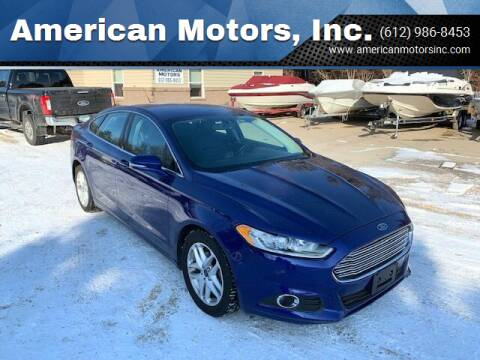 2016 Ford Fusion for sale at American Motors, Inc. in Farmington MN