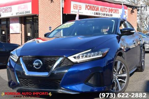 2019 Nissan Maxima for sale at www.onlycarsnj.net in Irvington NJ