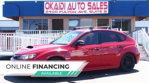 2008 Subaru Impreza for sale at Okaidi Auto Sales in Sacramento CA