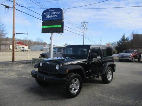 2012 Jeep Wrangler for sale at Mill Street Motors in Worcester MA