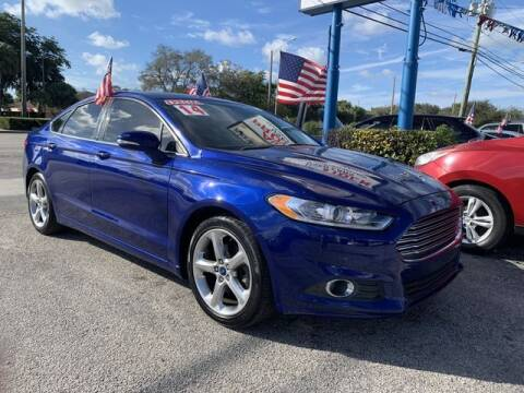 2014 Ford Fusion for sale at AUTO PROVIDER in Fort Lauderdale FL