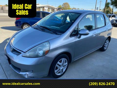 2007 Honda Fit for sale at Ideal Car Sales in Los Banos CA