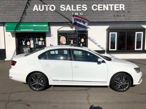 2018 Volkswagen Jetta for sale at Auto Sales Center Inc in Holyoke MA