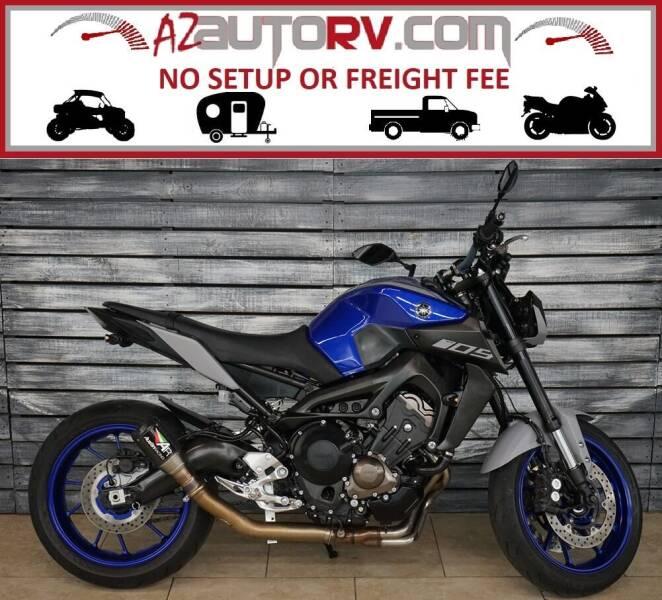 2020 Yamaha MT-09 for sale at AZautorv.com in Mesa AZ
