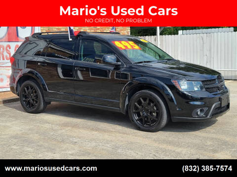 2016 Dodge Journey for sale at Mario's Used Cars - South Houston Location in South Houston TX