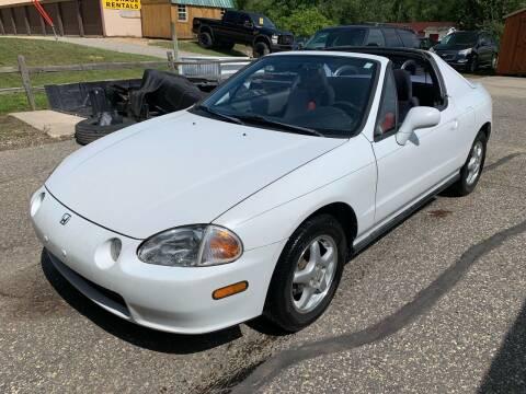 1995 Honda Civic del Sol for sale at 51 Auto Sales in Portage WI