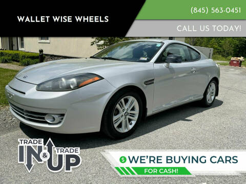 2008 Hyundai Tiburon for sale at Wallet Wise Wheels in Montgomery NY