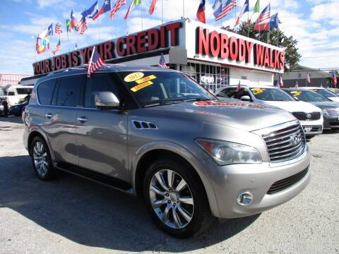 2012 Infiniti QX56 for sale at Giant Auto Mart 2 in Houston TX
