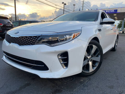 2016 Kia Optima for sale at LATINOS MOTOR OF ORLANDO in Orlando FL