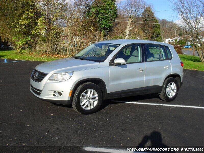 2011 Volkswagen Tiguan for sale at Mair's Continental Motors in Reading PA