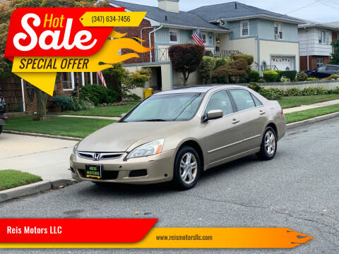 2006 Honda Accord for sale at Reis Motors LLC in Lawrence NY