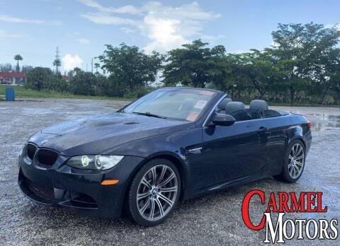 2008 BMW M3 for sale at Carmel Motors in Indianapolis IN