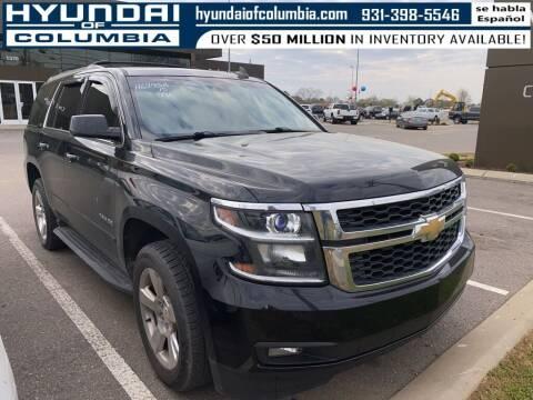 2015 Chevrolet Tahoe for sale at Hyundai of Columbia Con Alvaro in Columbia TN