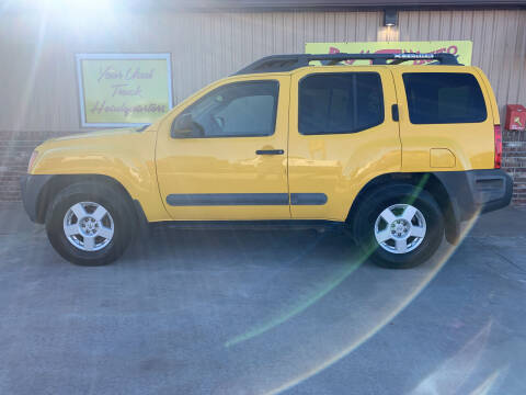 2005 Nissan Xterra for sale at BIG 'S' AUTO & TRACTOR SALES in Blanchard OK
