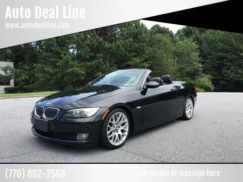 2008 BMW 3 Series for sale at Auto Deal Line in Alpharetta GA