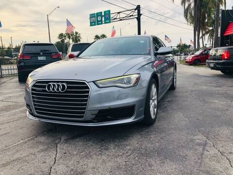 2016 Audi A6 for sale at GTR MOTORS in Hollywood FL
