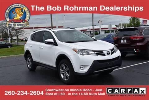 2015 Toyota RAV4 for sale at BOB ROHRMAN FORT WAYNE TOYOTA in Fort Wayne IN