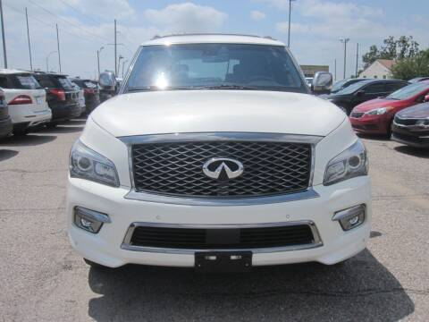 2016 Infiniti QX80 for sale at T & D Motor Company in Bethany OK