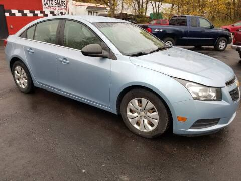 2012 Chevrolet Cruze for sale at GMG AUTO SALES in Scranton PA