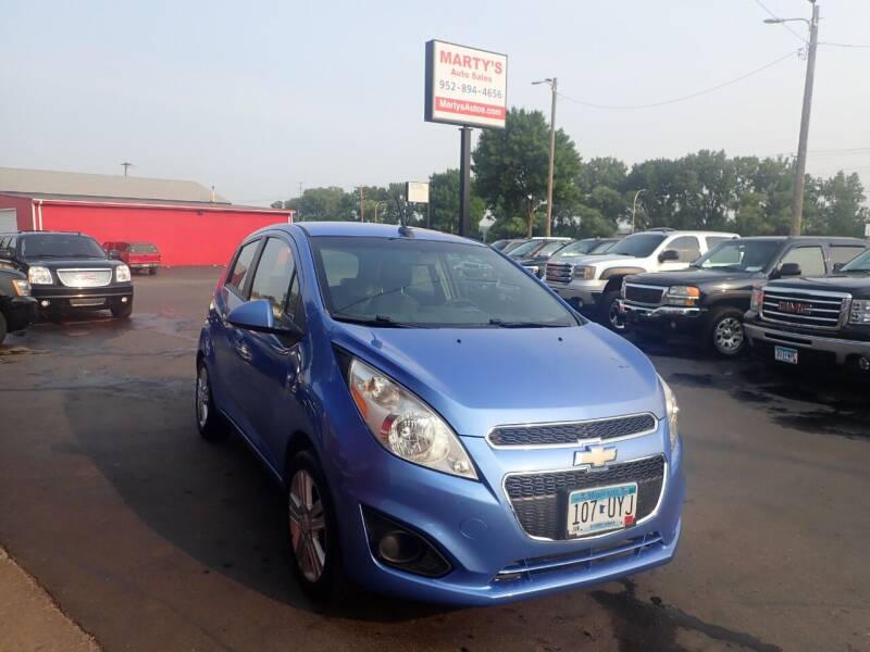 2013 Chevrolet Spark for sale at Marty's Auto Sales in Savage MN