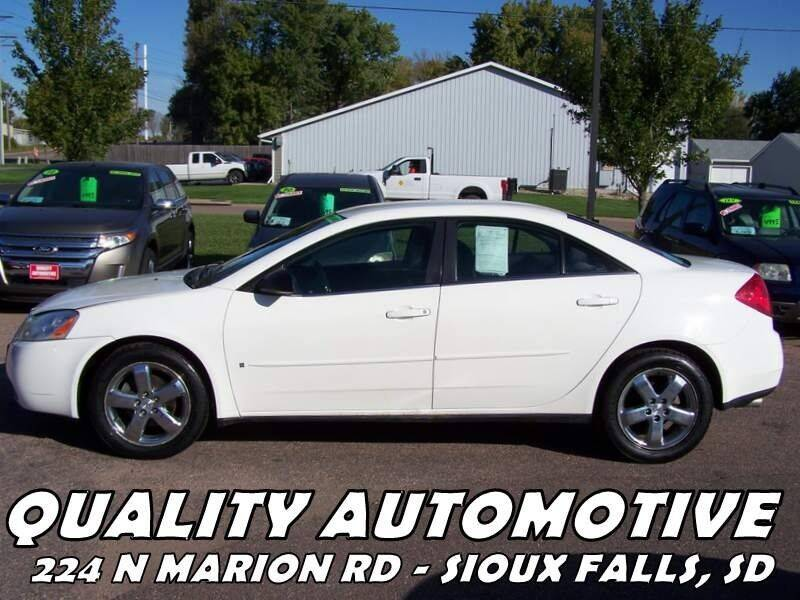 2007 Pontiac G6 for sale at Quality Automotive in Sioux Falls SD