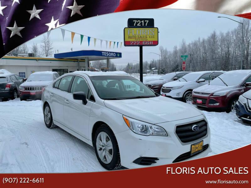 2015 Subaru Legacy for sale at FLORIS AUTO SALES in Anchorage AK
