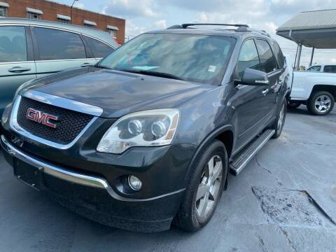 2012 GMC Acadia for sale at All American Autos in Kingsport TN