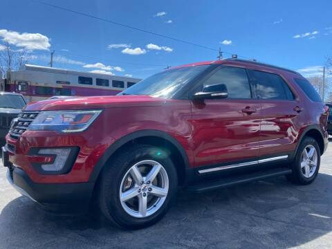 2017 Ford Explorer for sale at Mass Auto Exchange in Framingham MA