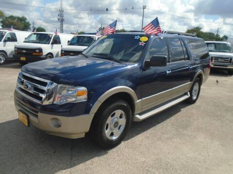 2010 Ford Expedition EL for sale at BAS MOTORS in Houston TX