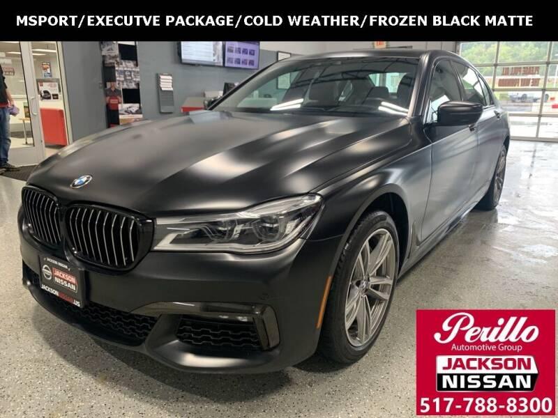 2019 BMW 7 Series for sale in Jackson, MI