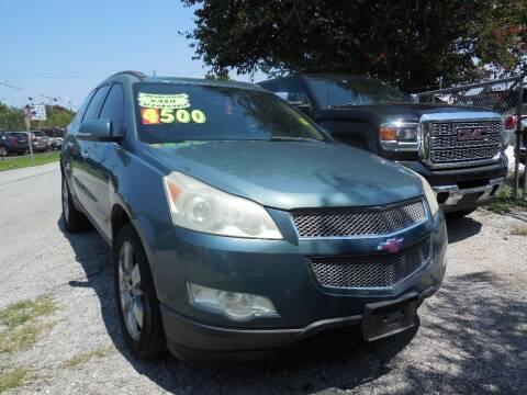 2009 Chevrolet Traverse for sale at SCOTT HARRISON MOTOR CO in Houston TX