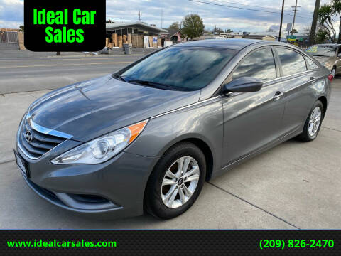 2013 Hyundai Sonata for sale at Ideal Car Sales in Los Banos CA