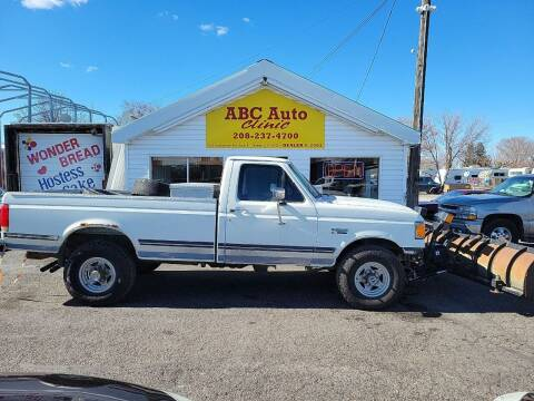 1991 Ford F-250 for sale at ABC AUTO CLINIC - Chubbuck in Chubbuck ID