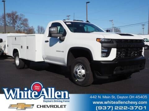 2021 Chevrolet Silverado 3500HD CC for sale at WHITE-ALLEN CHEVROLET in Dayton OH