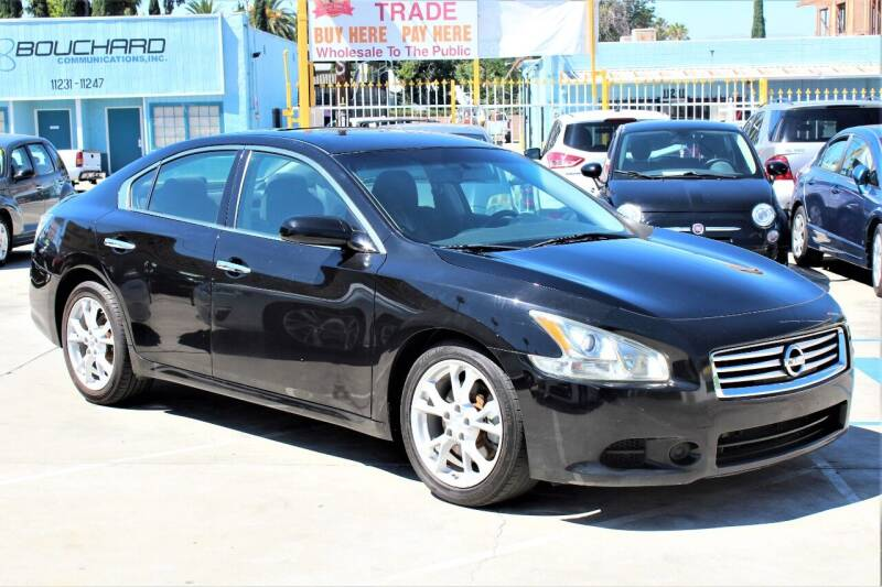 2012 Nissan Maxima for sale at FJ Auto Sales North Hollywood in North Hollywood CA
