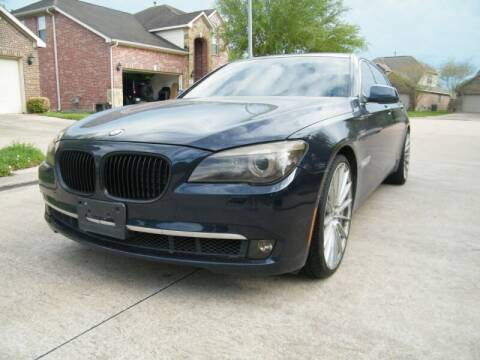 2011 BMW 7 Series for sale at Elite Modern Cars in Houston TX