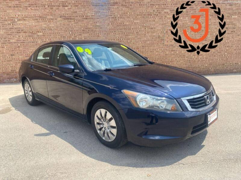 2009 Honda Accord for sale at 3 J Auto Sales Inc in Arlington Heights IL
