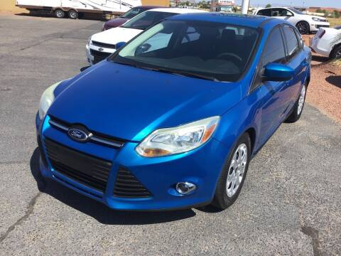 2012 Ford Focus for sale at SPEND-LESS AUTO in Kingman AZ