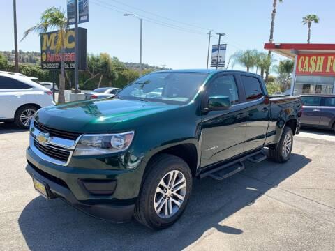 2016 Chevrolet Colorado for sale at Mac Auto Inc in La Habra CA