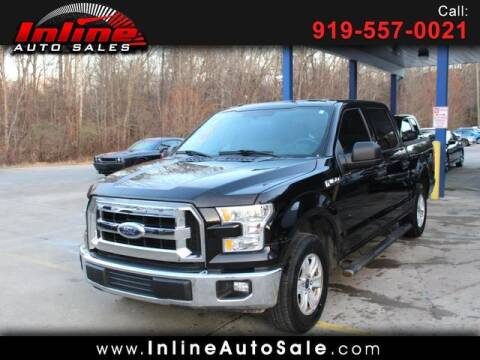2017 Ford F-150 for sale at Inline Auto Sales in Fuquay Varina NC