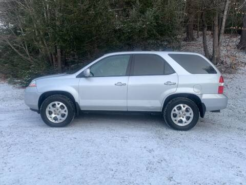 2002 Acura MDX for sale at Top Notch Auto & Truck Sales in Gilmanton NH
