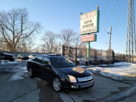 2007 Ford Fusion for sale at Five Star Auto Center in Detroit MI