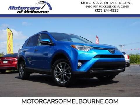 2018 Toyota RAV4 for sale at Motorcars of Melbourne in Rockledge FL